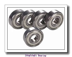 200 mm x 310 mm x 51 mm  Loyal NU1040 cylindrical roller bearings