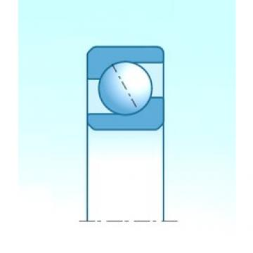 55,000 mm x 140,000 mm x 33,000 mm  NTN 7411 angular contact ball bearings