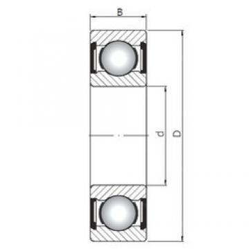 75 mm x 130 mm x 25 mm  ISO 6215 ZZ deep groove ball bearings