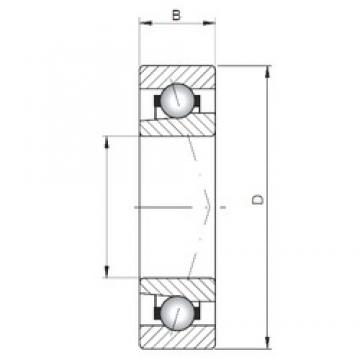 Loyal 7018 ATBP4 angular contact ball bearings