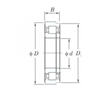 200 mm x 310 mm x 51 mm  KOYO NUP1040 cylindrical roller bearings
