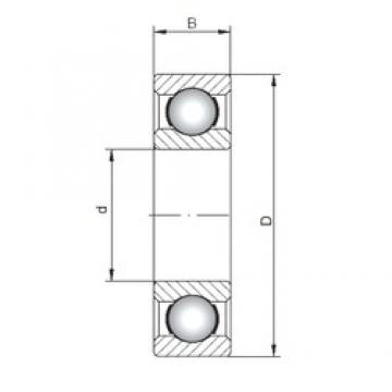 15 mm x 35 mm x 11 mm  ISO 6202 deep groove ball bearings