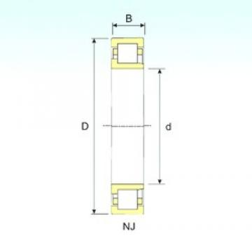 15 mm x 35 mm x 11 mm  ISB NJ 202 cylindrical roller bearings