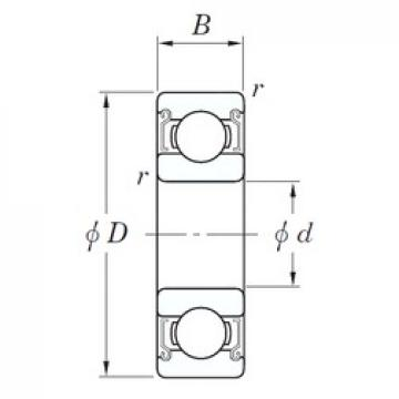 15 mm x 35 mm x 11 mm  KOYO SE 6202 ZZSTPR deep groove ball bearings