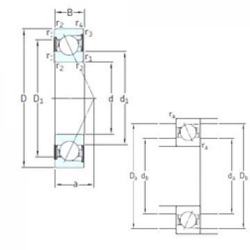 75 mm x 130 mm x 25 mm  SNFA E 275 /S 7CE1 angular contact ball bearings