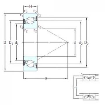 15 mm x 35 mm x 11 mm  SNFA BS 215 /S 7P62U thrust ball bearings