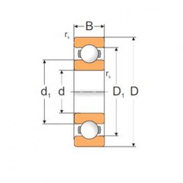 15 mm x 35 mm x 11 mm  Loyal 6202P deep groove ball bearings