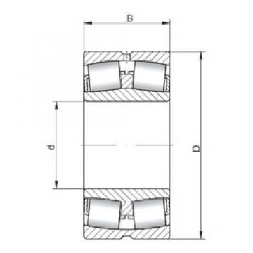 120 mm x 180 mm x 60 mm  ISO 24024W33 spherical roller bearings