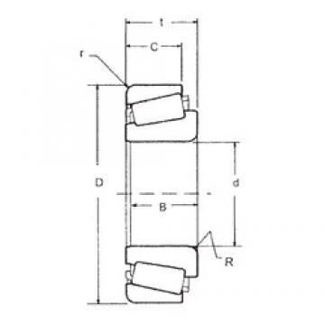 60 mm x 130 mm x 31 mm  FBJ 30312 tapered roller bearings