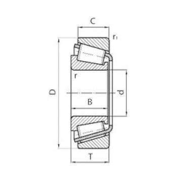 PFI 30307 tapered roller bearings