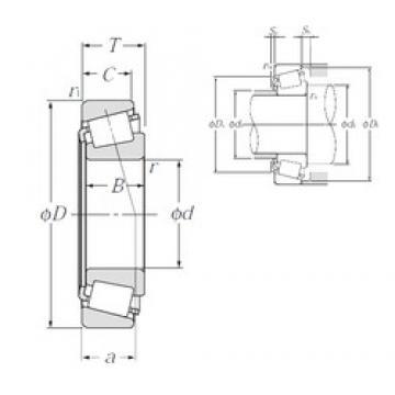 35 mm x 80 mm x 21 mm  NTN 4T-30307C tapered roller bearings