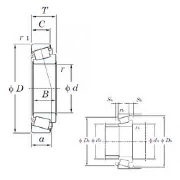 35 mm x 80 mm x 21 mm  KOYO HI-CAP 57277 tapered roller bearings