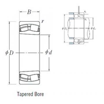 120 mm x 180 mm x 60 mm  NSK 24024CK30E4 spherical roller bearings