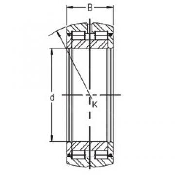 120 mm x 180 mm x 60 mm  INA SL05 024 E cylindrical roller bearings