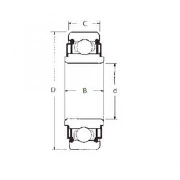 15 mm x 35 mm x 11 mm  FBJ 88502 deep groove ball bearings