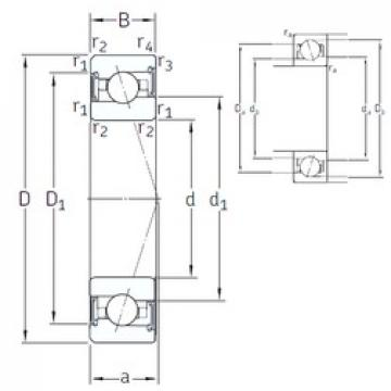 90 mm x 140 mm x 24 mm  SNFA VEX 90 /S 7CE3 angular contact ball bearings