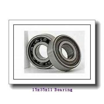 15 mm x 35 mm x 11 mm  KOYO 6202-2RU deep groove ball bearings