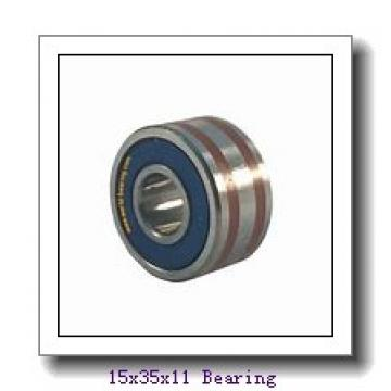 15 mm x 35 mm x 11 mm  NSK 6202L11 deep groove ball bearings