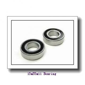 15 mm x 35 mm x 11 mm  NSK 6202NR deep groove ball bearings