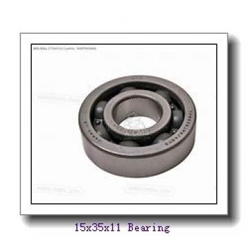15 mm x 35 mm x 11 mm  KOYO 7202CPA angular contact ball bearings