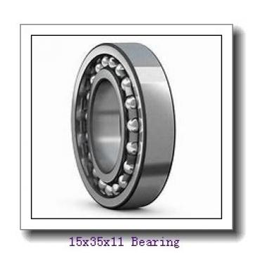15 mm x 35 mm x 11 mm  KOYO 6202NR deep groove ball bearings