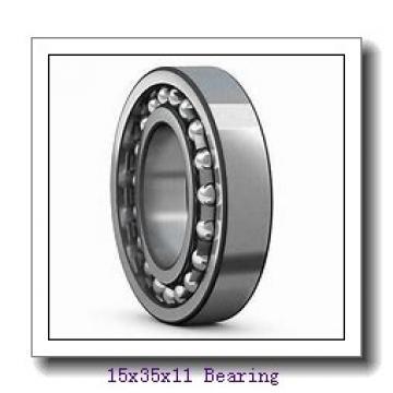 15 mm x 35 mm x 11 mm  NTN 6202ZZ deep groove ball bearings