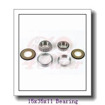 15 mm x 35 mm x 11 mm  NTN 7202CG/GNP4 angular contact ball bearings