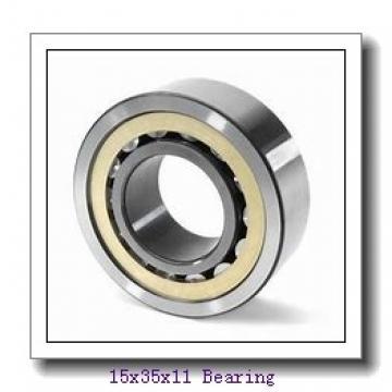 15 mm x 35 mm x 11 mm  NACHI 7202CDT angular contact ball bearings