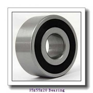 35 mm x 55 mm x 20 mm  SNR MLE71907CVDUJ74S angular contact ball bearings