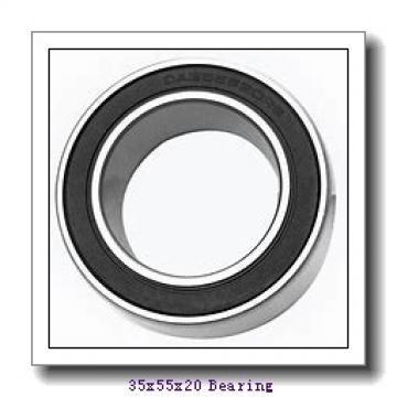 35 mm x 55 mm x 20 mm  IKO NAU 4907UU cylindrical roller bearings