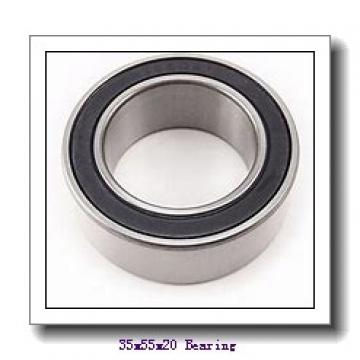 35 mm x 55 mm x 20 mm  SNR ML71907CVDUJ74S angular contact ball bearings