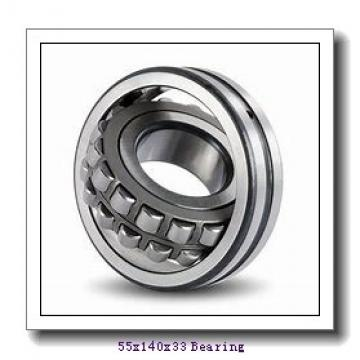 55 mm x 140 mm x 33 mm  Fersa 6411-2RS deep groove ball bearings