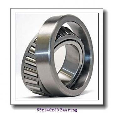 55 mm x 140 mm x 33 mm  FBJ NJ411 cylindrical roller bearings