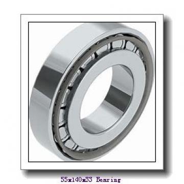55 mm x 140 mm x 33 mm  NKE NU411-M cylindrical roller bearings