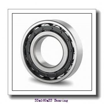 55 mm x 140 mm x 33 mm  Loyal 6411 deep groove ball bearings