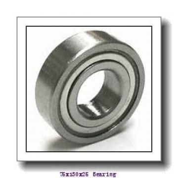 75 mm x 130 mm x 25 mm  NKE 6215-Z deep groove ball bearings