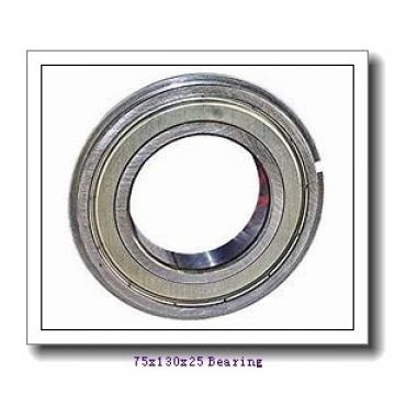 75 mm x 130 mm x 25 mm  ISO 6215-2RS deep groove ball bearings