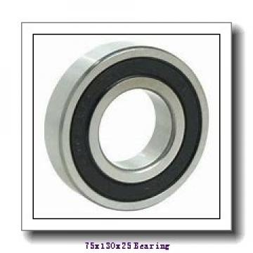 75 mm x 130 mm x 25 mm  NKE 6215-Z-N deep groove ball bearings