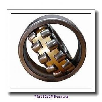 75 mm x 130 mm x 25 mm  NACHI NU 215 cylindrical roller bearings