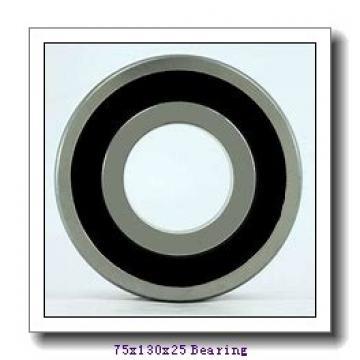 75 mm x 130 mm x 25 mm  SKF 215-2Z deep groove ball bearings