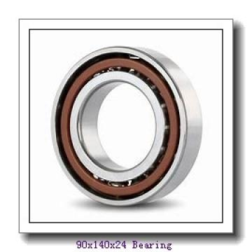 90 mm x 140 mm x 24 mm  FAG B7018-E-2RSD-T-P4S angular contact ball bearings