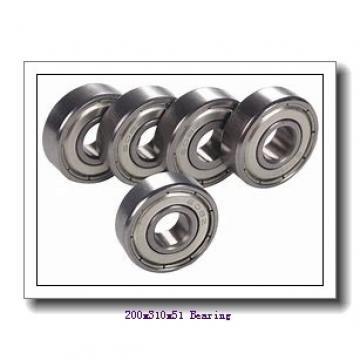 200 mm x 310 mm x 51 mm  ISB QJ 1040 angular contact ball bearings