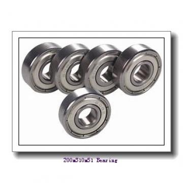200 mm x 310 mm x 51 mm  ISO NH1040 cylindrical roller bearings