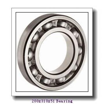 200 mm x 310 mm x 51 mm  ZEN 6040 deep groove ball bearings