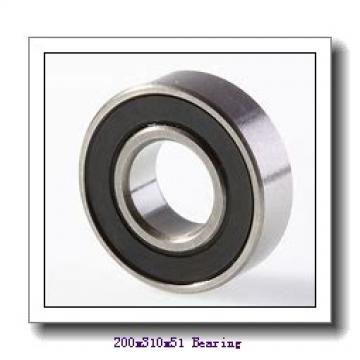200 mm x 310 mm x 51 mm  SNR 7040CVUJ74 angular contact ball bearings