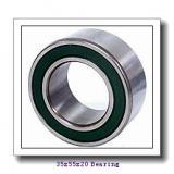 35 mm x 55 mm x 20 mm  NSK 35BD219T12 angular contact ball bearings