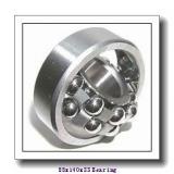 55 mm x 140 mm x 33 mm  KOYO 7411B angular contact ball bearings